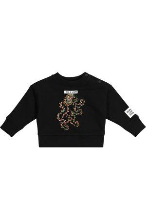 Burberry Sweatshirts - Baby Montage cotton sweatshirt