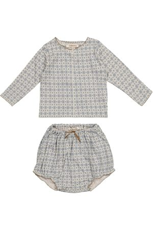 Caramel Sets - Baby Dottback top and bloomers set