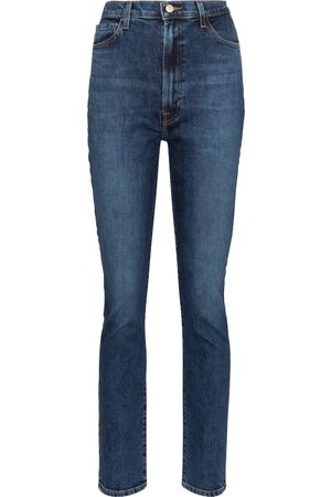 J Brand 1212 Runway high-rise straight jeans
