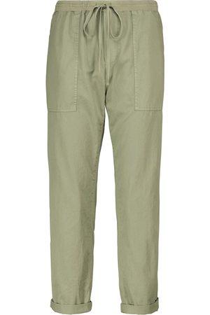 Velvet Misty cotton twill cargo pants
