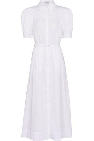 GABRIELA HEARST Sen cotton shirt dress