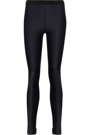 Balenciaga Mid-rise stretch-jersey leggings