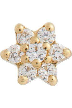 Maria Tash Women Studs - Flower 18kt single earring with diamonds