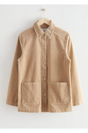 & OTHER STORIES Women Jackets - Relaxed Patch Pocket Corduroy Jacket