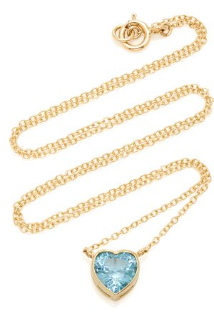 Katey Walker Women's London 18K Gold and Topaz Necklace - - Moda Operandi