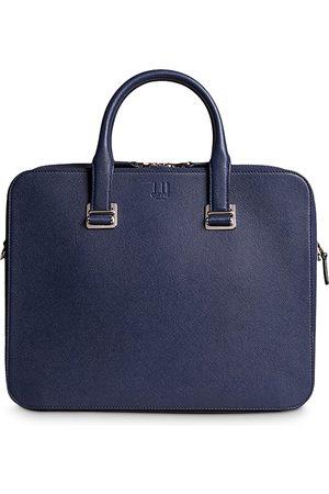 Dunhill Men Laptop Bags - Cadogan Leather Slim Double Document Case