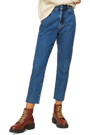 Whistles Authentic High-Rise Slim-Leg Jeans in Denim