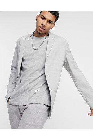 ASOS Skinny soft tailored blazer in -Grey