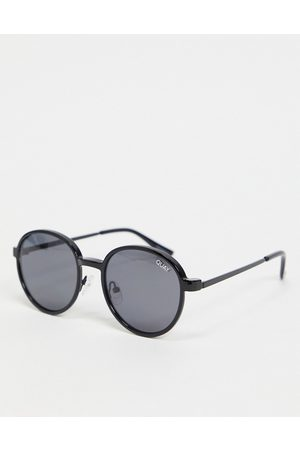Quay Australia Quay I See You Clip On unisex round sunglasses in