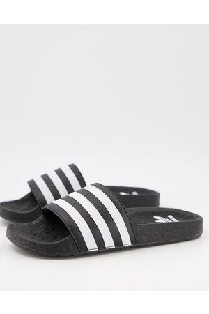 adidas Adilette Boost slides in black-Multi