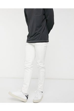 Selected Skinny jeans in white