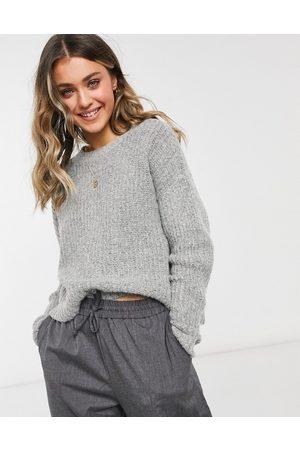 JDY Sweater in -Grey