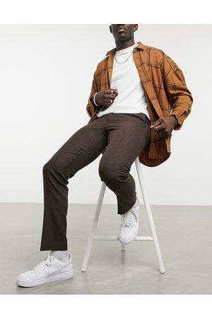 Harry Brown Wedding wool mix slim fit suit pants