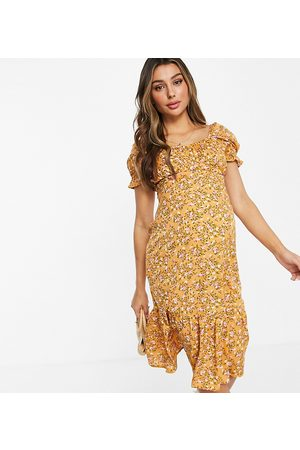 Influence Midi dress in floral print
