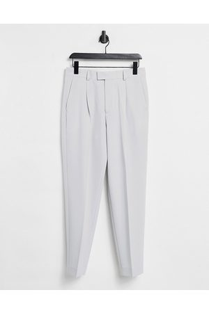ASOS Oversized tapered smart pants in -Grey