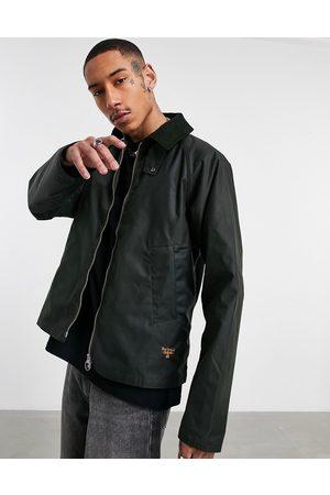 Barbour Beacon Munro wax jacket in sage