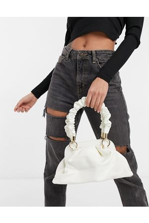 Ego X Molly Mae handheld mini bag with ruched handle in