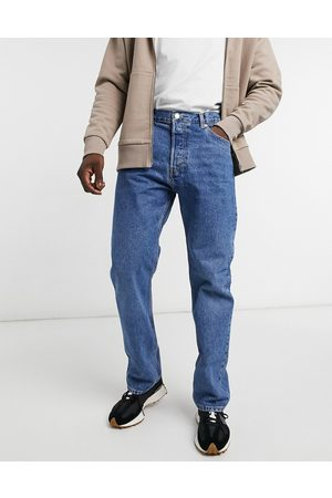 Weekday Space jeans in sea blue-Blues