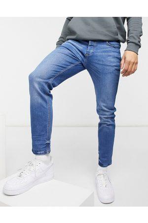 River Island Slim jeans in blue-Blues