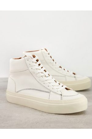 ASOS Lace up sneakers in off