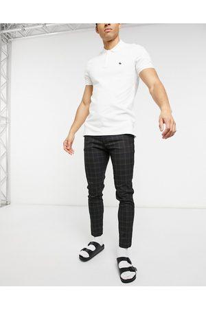 ASOS Smart super skinny pants in check
