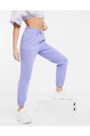 JDY Slim cuffed sweatpants in lilac - part of a set