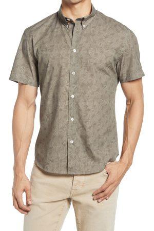 BILLY REID Men's Murphy Print Short Sleeve Button-Down Shirt