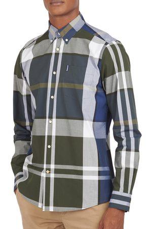 Barbour Men's Tailored Fit Tartan Button-Down Shirt