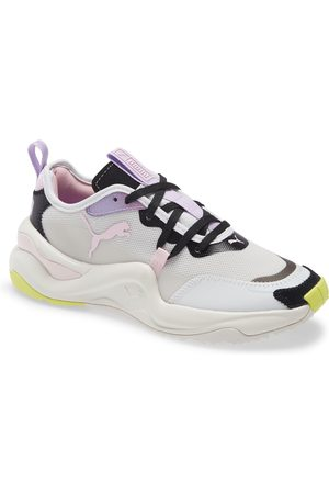 PUMA Women's Rise Rainbow Dash Sneaker