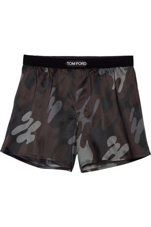 Tom Ford Men's Stretch Silk Boxers
