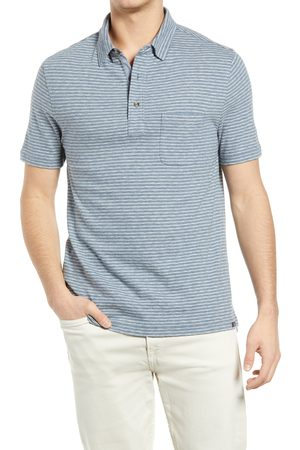 Faherty Men Polo Shirts - Men's Luxe Heathered Short Sleeve Polo