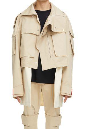 Givenchy Men's Oversize Crop 2-In-1 Parka