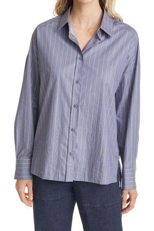 Max Mara Women's Oversize Pinstripe Button-Up Shirt