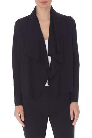 Anne Klein Women Blazers - Women's Drape Front Jacket