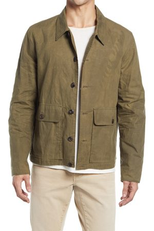 BILLY REID Men Coats - Men's Waxed Cotton Flight Jacket