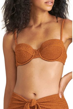 VERONICA BEARD Women's Dyer Underwire Bikini Top