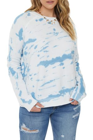 VICI Women Hoodies - Women's X Nordstrom Tie Dye Crewneck Cotton Sweatshirt