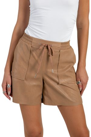 N:philanthropy Women's Samy Faux Leather Shorts