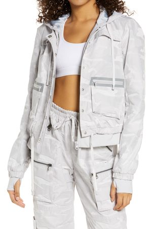 Blanc Noir Women's Skyfall Hooded Aviator Jacket