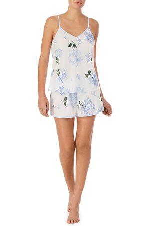 Kate Spade Women's Floral Boxer Short Pajamas