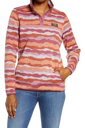 L.L.BEAN Women's Pattern Sweater Fleece