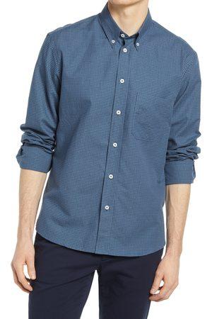 BILLY REID Men Shirts - Men's Tuscumbia Check Cotton & Linen Button-Down Shirt