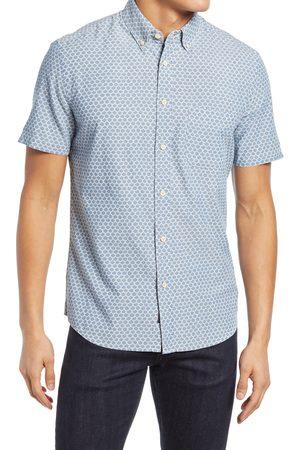 Faherty Men's Playa Regular Fit Print Short Sleeve Button-Down Shirt