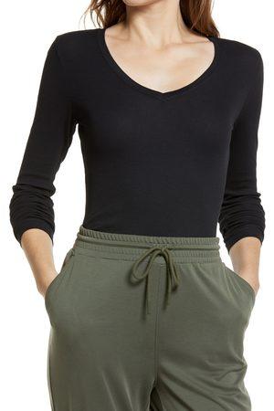 Nordstrom Women Long Sleeve - Women's Everyday Long Sleeve V-Neck T-Shirt