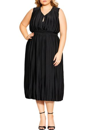 City Chic Plus Size Women's Perfect Day Sleeveless Midi Dress