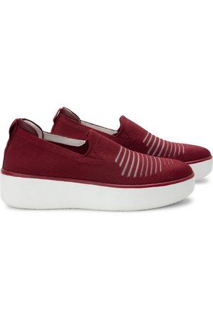 TRAQ BY ALEGRIA Women Platform Sneakers - Women's Mystiq Peeps Platform Slip-On Sneaker