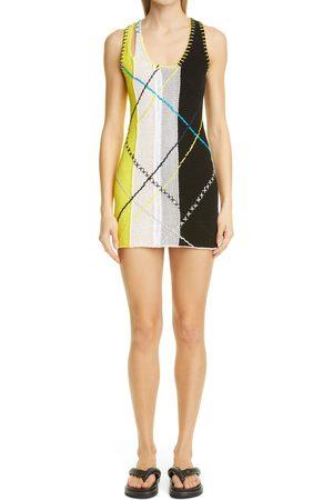 Yanyan Women's Smarty Triple Strap Sweater Dress