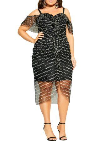 City Chic Women Dresses - Plus Size Women's Jeweled Dream Dress