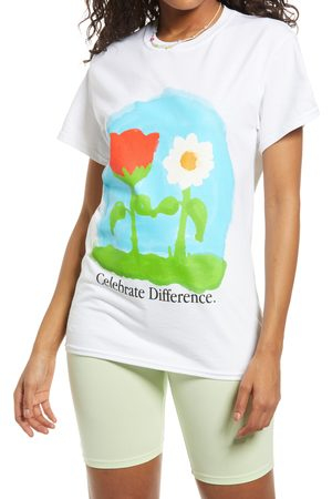 Petals and Peacocks Celebrate Love Graphic Tee