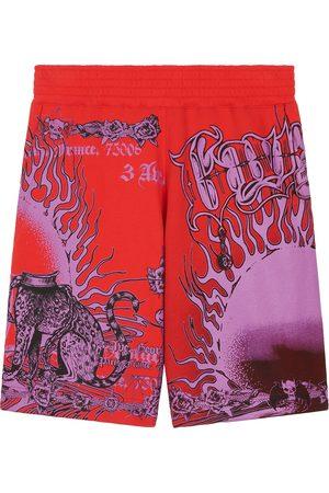 Givenchy Men's Ultra Print Shorts